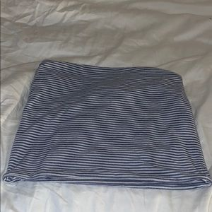 Cotton, stripped tube top